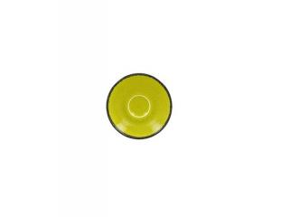 """""""Fire green"""" Farfurioara pu cana de cafea . 13cm,1buc."""