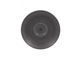 """""""Trinidad black grey"""" Farfurioara 17cm.,1buc."""