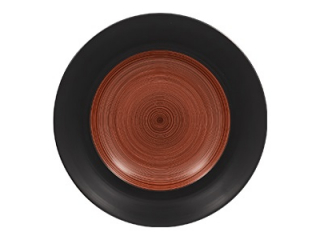 """Trinidad black walnut"" Platou 24cm.,1buc."