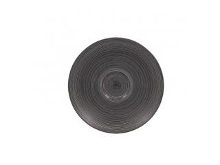 """""""Trinidad black grey"""" Farfurioara 15,5cm.,1buc."""