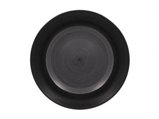 """""""Trinidad black grey"""" Platou 24cm.,1buc."""
