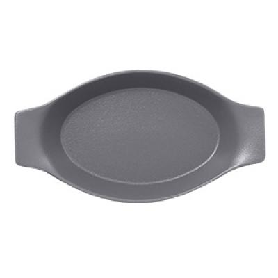 """""""Neo fusion""""Platou oval cu doua minere t/rezistent 20cm.Gray 1buc., NEO FUSION,"""