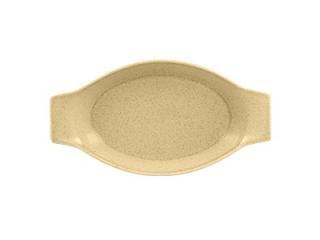 """""""Genesis"""" Cream brulee, platou termorezistent, 30 cm, 1 buc."""