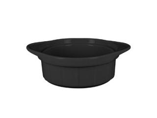 """Chef's Fusion"" Vas termorezistent, 11 cm, Black, 1 buc"