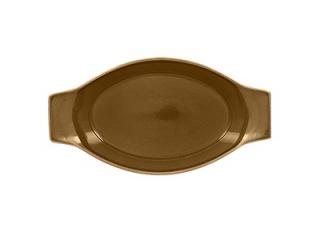 """Genesis"" Caramel, Platou termorezistent, 20 cm, 1 buc."