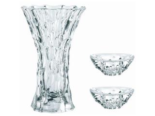 """Sphere"" Set vaza cu 2 boluri, 3 piese"