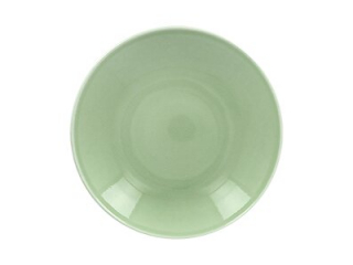 """Vintage Green"" Farfurie adinca , 23cm"