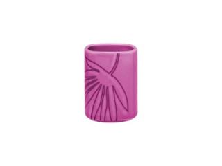 """Aztek Pink"" Vas pentru scobitori, 10 cm, 1 buc"