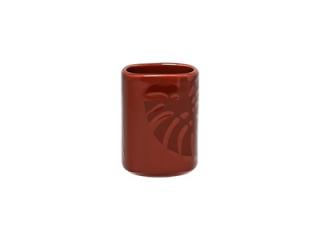 """Aztek RED"" Vas pentru scobitori, 10 cm, 1 buc"