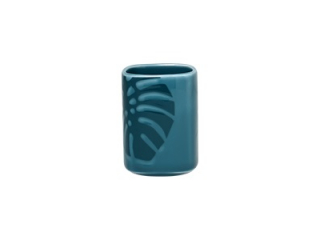 """Aztek Turquoise"" Vas pentru scobitori, 10 cm, 1 buc."