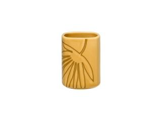"""""""Aztek Yellow"""" Vas pentru scobitori, 10 cm, 1 buc."""