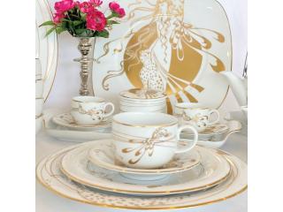 """Donna Pantera"" Set ceai, 21 piese"