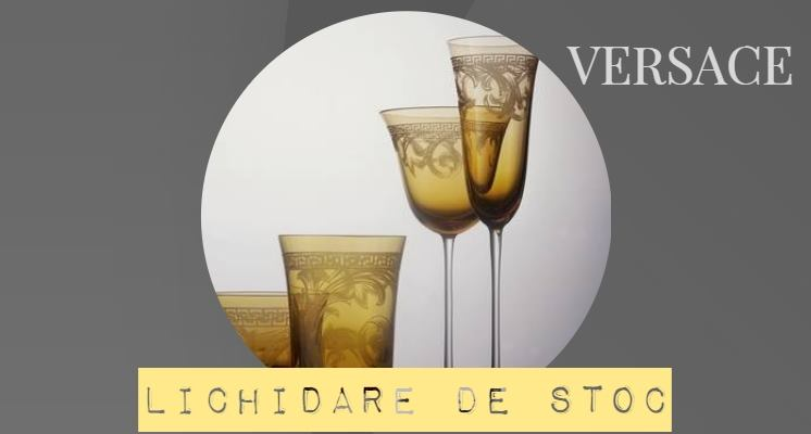 Versace Arabesque Amber  Pocale de Lux