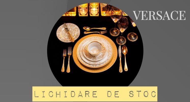 Versace Medusa Gala Gold Veselă de Lux