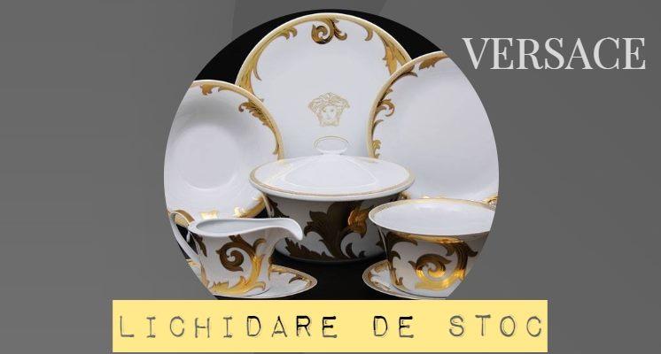 Versace Arabesque Gold Veselă de Lux