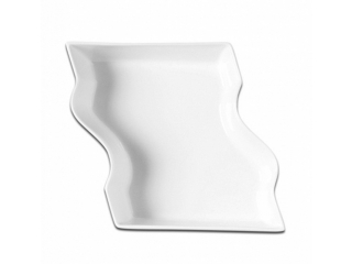 """B-Concept Collection"", Buffet service tray,Bol divizat, 18x20x6 cm, 1 buc"