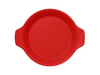 """Chefs fusion""Platou rotund cu doua minere t/rezistent 16cm. Red 1buc."
