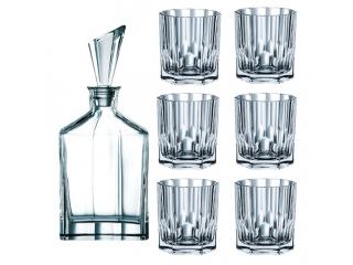 "Set whisky ""Aspen"" , 7 piese"