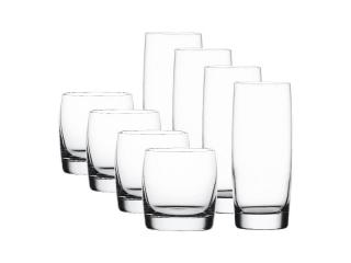 """Vivendi"" Set pahare, 12 piese (6 apa+6 whisky)"
