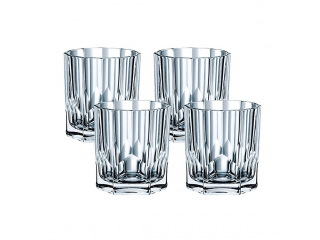 """Aspen"" Set pahare p/u whisky, 324 ml, 4 buc."