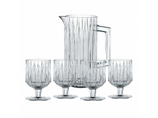 """""""Jules"""" Set ulcior cu 4 pahare p/u whisky, (1135 ml + 4*260 ml), 5 pcs"""