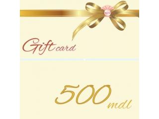 Certificat de Cadou, 500 lei