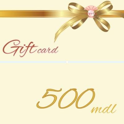 Certificat de Cadou, 500 lei, Certificate CADOU,