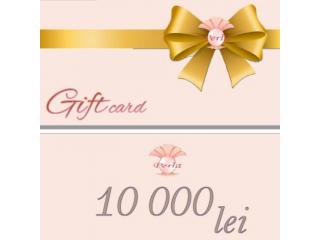 Certificat de Cadou, 10000 lei