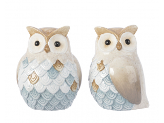 "Figurina ""Owl"", Cream, 1 pcs"