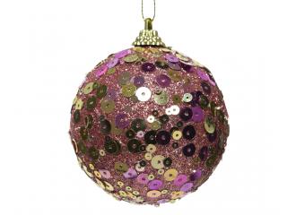 "Glob ""Velvet pink"", Roz, d 8cm, 1 pcs"