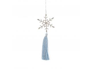 """Ornament ''Tassel"""", Blue, 1 pcs."""