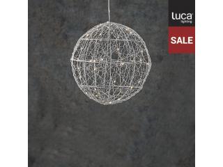 Ornament ''Ball'' Silver-White, 50 led, 1 pcs.