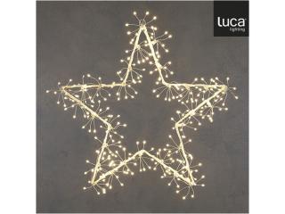 "Ghirlanda ""Star"", classic-white, 300LED,d58cm, 1 pcs"
