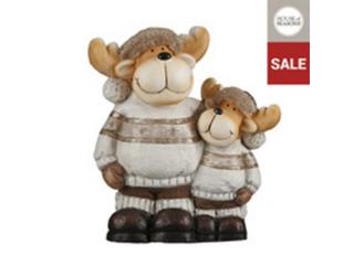"Figurina ""Deer"" Brown, h41 cm, 1pcs"