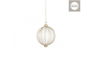 "Glob ""Ornament"", Gold, d10 cm, 1pcs"