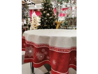 """Fata de masa """"Christmas"""", d 178 cm, 1 buc"""