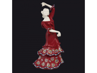 "Figurina ""Spanish Grace"", red, 20 cm, 1 buc"