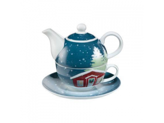 """Set ceai """"Christmas at home"""" 3 piese, 0,35 l, 15,5 cm , 1 set"""