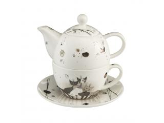 "Set ceai ""Carota con amici"" 3 piese, 0,35 l, 15 cm , 1 set"