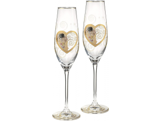 """Set cupe """"Heart  Kiss"""",  0.1l, 2 piese"""