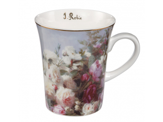 "Cana ""Still life with roses"", 11 cm, 0,4 l, 1 buc"