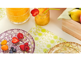 """Vitaminic"" Set suport farfurii, 6 pcs, 43,5x28,5 cm"