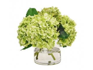 """Floare artificiala """"Hydrangea"""" L51  green, 1 buc"""