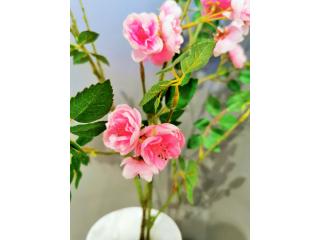 """Floare artificiala """"Rosa """" h130cm,pink, 1 buc."""