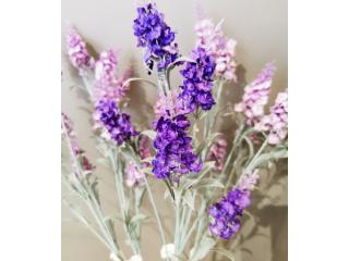 """Floare artificiala """"Lavanda"""" h70cm, violet, 1 buc."""