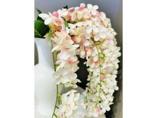 """Floare artificiala """"Ortensia"""", H80,  1buc"""