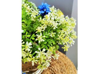 """Floare artificiala """"Skimmia pick """" h24cm, 1 buc."""