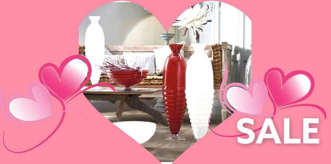 Întreaga colecție Anfore la SUPER Preț! Fii gata de Valentine's Day !
