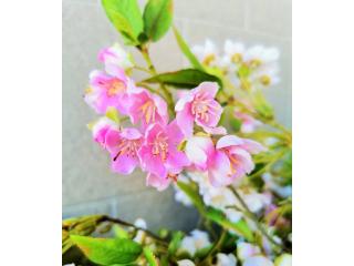 """Floare artificiala """"Crategus"""" h93 cm, 1 buc."""