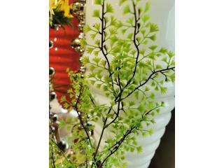 "Floare artificiala ""Capel venere"" h100 cm,green, 1 buc."